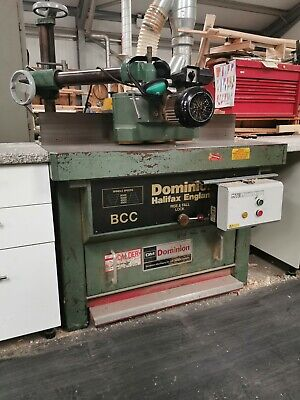 Wadkin Dominion BCC Spindle Moulder With Auto Brake & 3 Roller Powerfeed Unit • 2,500£
