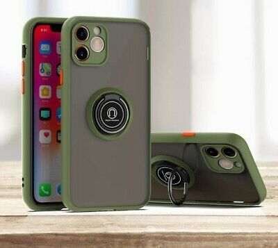 AU8.99 • Buy For Apple IPhone 11 Pro Max Slim Magnetic Kickstand Ring Holder Phone Case Cover