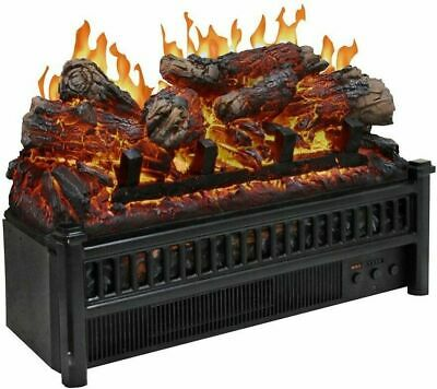 $133.99 • Buy 23 Electric Fireplace Log Set With Heater Blower Fire Place Insert Logs Room RV