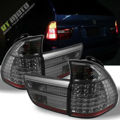 $195.99 • Buy Smoked 2000-2006 BMW X5 E53 Lumileds LED Tail Lights Rear Brake Lamps Left+Right