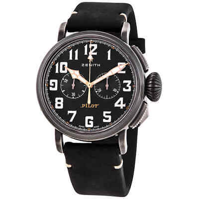 $4262.34 • Buy Zenith Pilot Type 20 Chronograph Automatic Men's Watch 11.2432.4069/21.C900