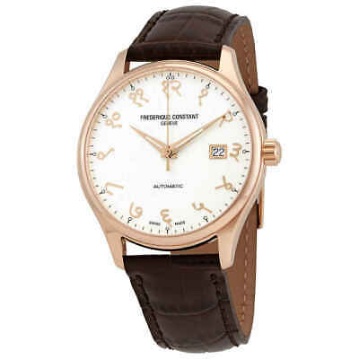 $628.95 • Buy Frederique Constant Index Automatic White Dial Men's Watch FC-303VI5B4