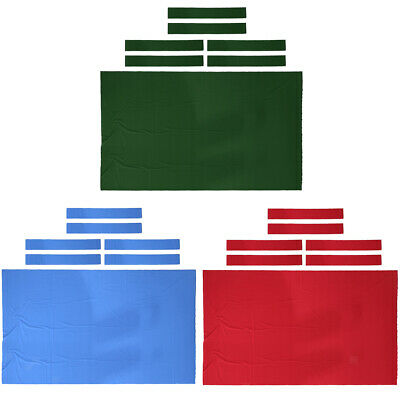 AU36.50 • Buy 9ft Replacement Billiard Table Cloth Pool Table Felt With Cushion Rail Strips