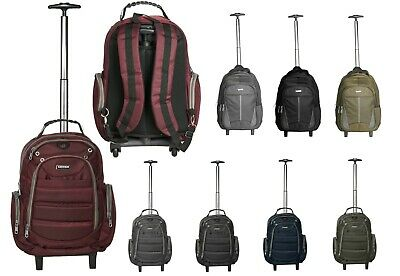 £19.99 • Buy Choice London Wheeled Bag Cabin Suitcase Backpack Laptop Trolley