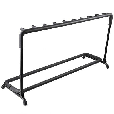 $ CDN50.47 • Buy Guitar Stand Folding Display Rack Stage Bass For 3 5 7 9 Holder Acoustic Guitar