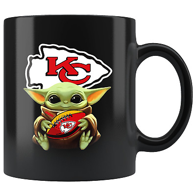 $20.67 • Buy Kansas City CHIEFS Baby Yoda Star Wars Cute Yoda CHIEFS Funny Yoda Coffee Mug