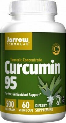 JARROW FORMULAS Curcumin 95 500mg 60 Veggie Caps FREE WORLDWIDE SHIPPING • 23.12£