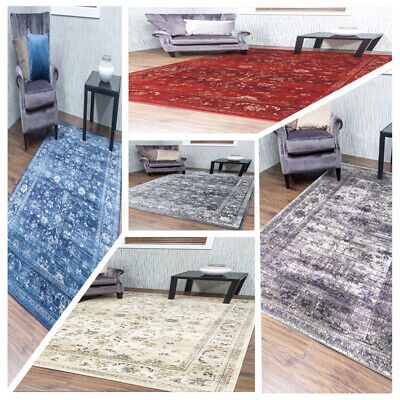 £75 • Buy Vintage Distressed Classic Rug Mat Large Small Faded Traditional Carpet Cheap UK