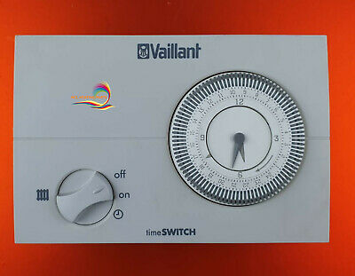 £47.99 • Buy Vaillant Time Switch 130 24hr Mechanical Analogue Timer Clock 306759 A618 Genuin
