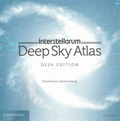 Interstellarum Deep Sky Atlas : Desk Edition, Paperback By Stoyan, Ronald; Sc... • 58.14£