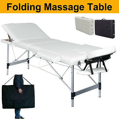 Massage Table Bed Portable Beauty Couch Professional Folding Lightweight Salon • 77.88£