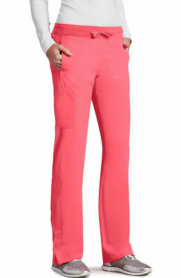 $11.65 • Buy Barco One Style 5205 Elastic/Draw Cargo Scrub Pant In Coral Reef, Size 2XL