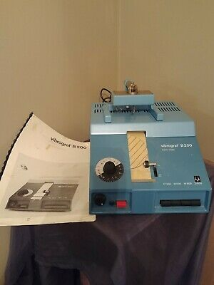 $ CDN281.52 • Buy Vintage Bulova Vibrograf B200 Solid State Watchmakers Watch Timing Machine