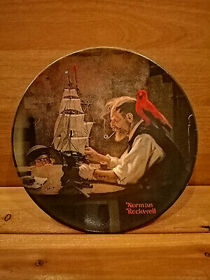 $ CDN5 • Buy Norman Rockwell 1980 Limited Edition Collectors Plate  The Ship Builder
