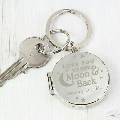 Personalised I Love You Photo Keyring Mother's Day Gift For Mum Mummy Aunt Gran • 14.99£