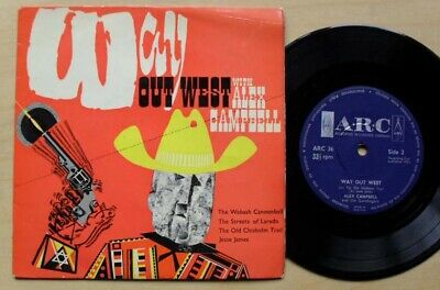 £9.50 • Buy Alex Campbell Way Out West Ep 1963 (has Light Surface Marks) Uk