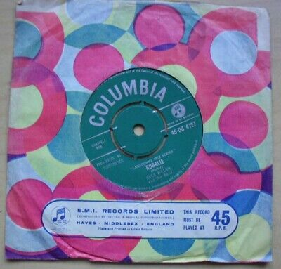 Alex Welsh Rosalie 7  1961 With You'll Cry Someday Uk • 7.50£