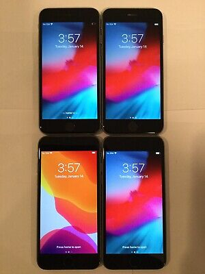 $ CDN319.54 • Buy LOT OF FOUR TESTED CDMA + GSM UNLOCKED AT&T APPLE IPhone 6S 32GB PHONES A160J