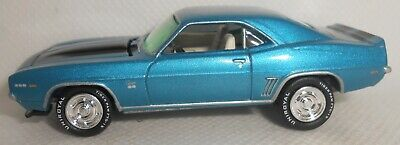 $5.50 • Buy Johnny Lightning 1969 Chevy Camaro RS/SS Blue With Rubber Tires 2007 Loose