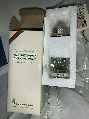 $ CDN13.79 • Buy Dave Grossman Norman Rockwell ''Carroler'' Christmas Ornament Figurine 1978 NEW