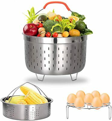 $26.89 • Buy Pressure Cooker Accessories Steamer Basket Set For Instant Pot Fits 6 QT 8 Quart