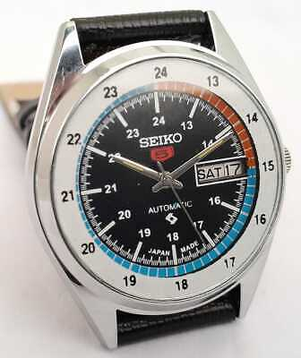 $ CDN43.92 • Buy Vintage Seiko 5 Automatic Stainless Steel Movement No.6309 Day-Date Men's Watch
