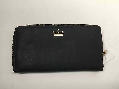 $ CDN108.03 • Buy Kate Spade Cameron Street Lacey Wallet, Black - PWRU5073-001 *AS-IS/BROKEN ZIPPE