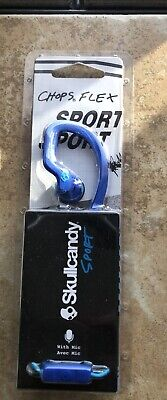 $12.75 • Buy Brand New Skullcandy Chops Flex Sport Blue Earbud Ear Hook Headphones S4CHY-K608