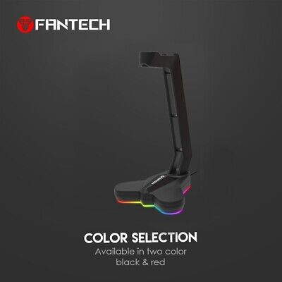 AU28.99 • Buy FANTECH AC3001S RGB Headphone Stand Anti-Slip And Base Is Aggravating For M D1W4