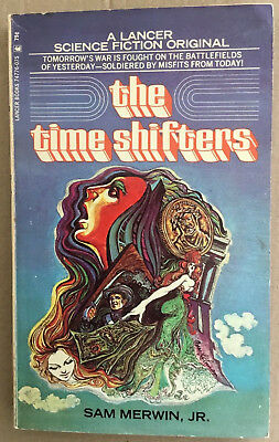 $5 • Buy The Time Shifters Vintage Sci-fi Paperback Sam Merwin SF Retro Lancer 1971 1970s