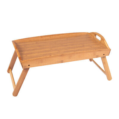 $16.99 • Buy Folding Wood TV Tray Breakfast Dinner Table Coffee Stand Serving Snack Tea Tray