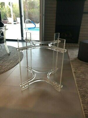 $850 • Buy Vintage Mid-Century Lucite Dining Table