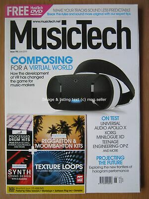 AU12.62 • Buy MusicTech June 2019 Composing For Virtual World Universal Audio Apollo X & DVD