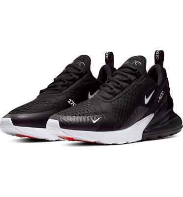 $105 • Buy Nike Men's Air Max 270 Running Athletic Shoes White/black/red