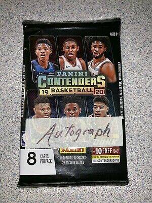 $4.25 • Buy AUTOGRAPH - 2019 20 Contenders Basketball HOT PACK  Ja Morant?  Zion Williamson?