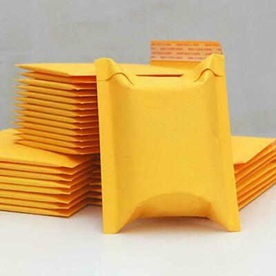 $ CDN2.81 • Buy Yellow Kraft Bubble Mailers Padded Envelope Shipping Seal Bags Bag Packing D6P5