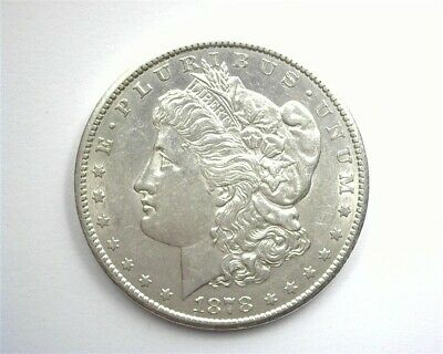 $166 • Buy 1878-cc Morgan Silver Dollar About Unc+ Better Date!
