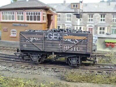 Dapol 7 Plank Wagon Coal Agencies Bristol & Load (lineside Weathered) B181 • 24.95£