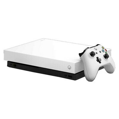 $319.99 • Buy Microsoft Xbox One X - 1 TB - White - Game Console - Very Good Condition - (VGC)