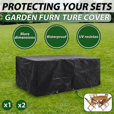 AU30.99 • Buy VidaXL 1/2x Outdoor Furniture Cover Waterproof Table Chair Shelter Multi Sizes