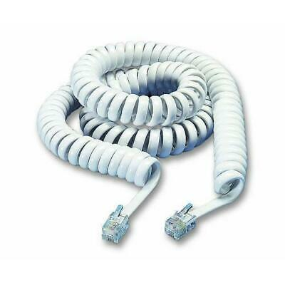 £3.49 • Buy BT Decor 2100 2200 2600 Replacement Telephone Handset Curly Coiled Cord White