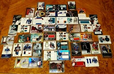 $ CDN27.08 • Buy Huge Sweet 48 Card Autograph Patch Rookie Rc Auto Jersey Lot Amazing!! Rpa Look!