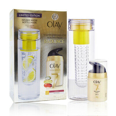 AU24.99 • Buy OLAY Radiance Limited Edition | Total Effects Day Cream 50g X1 & Infuser Bottle