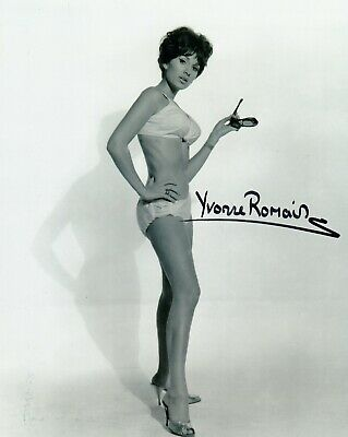AU42.22 • Buy Yvonne Romain Autographed 8x10 Photo Circus Of Horrors (4)