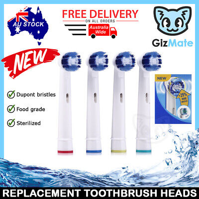 AU4.93 • Buy NEW +29% PRECISION CLEAN Oral B Compatible Replacement Toothbrush Brush Heads