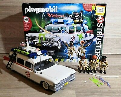 Boxed Playmobil 9220 Ghostbusters ECTO-1 Car And Figures • 34.99£