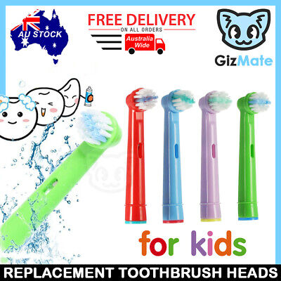 AU6.50 • Buy 4pcs Children Kids Replacement Brush Heads For Oral-B Stages Electric Toothbrush