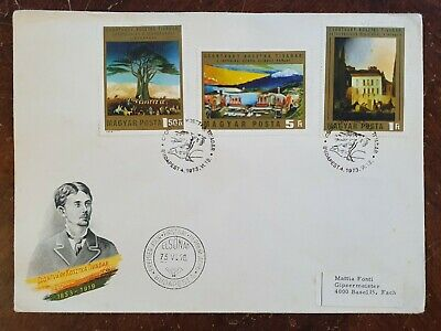 1973 Magyar Hungary First Day Cover Csontváry Kosztka Tivadar FDC • 4.99£