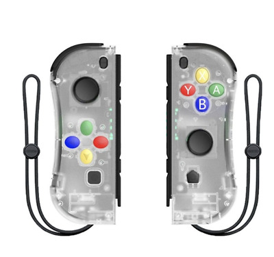 $35.99 • Buy Joy-Con Game Controllers Gamepad Joypad For Nintendo Switch Console Transparent