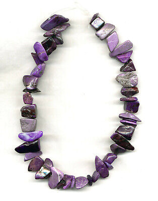 $299 • Buy SOUTH AFRICAN SUGILITE NUGGET BEADS - 16  Strand - 2033C